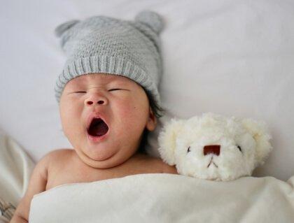 Schlaflose Nächte für die Eltern und das Baby